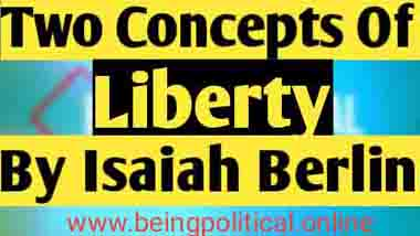 berlin two concepts of liberty