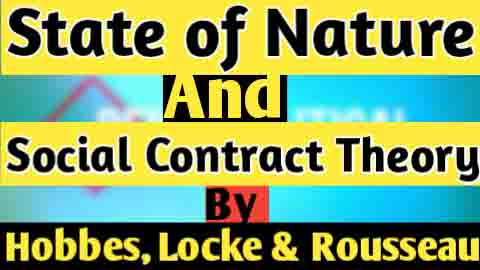 Compare and contrast social contract theory of Thomas Hobbes and John Locke Rousseau