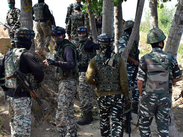 Two soldiers martyred during a security encounter in Baramulla