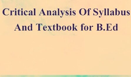 critical analysis of social science textbook