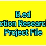 Action Research Project for B.Ed Students in Social Science