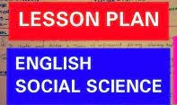 Social Science Lesson Plan in English