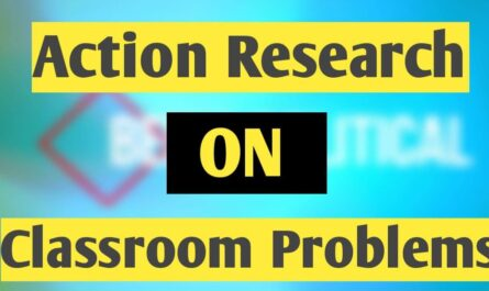 Action Research in Classroom Problems examples of Reading problems