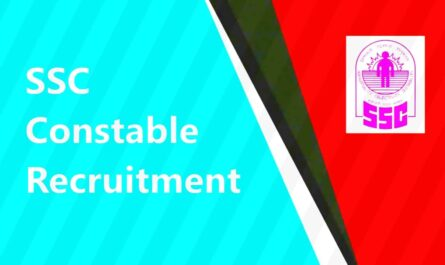 SSC Constable Recruitment 2021